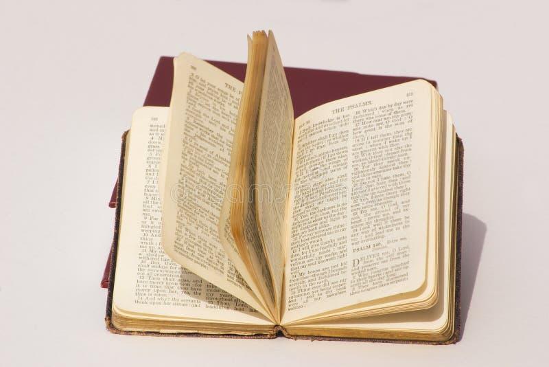 Libro de salmos fotos de archivo