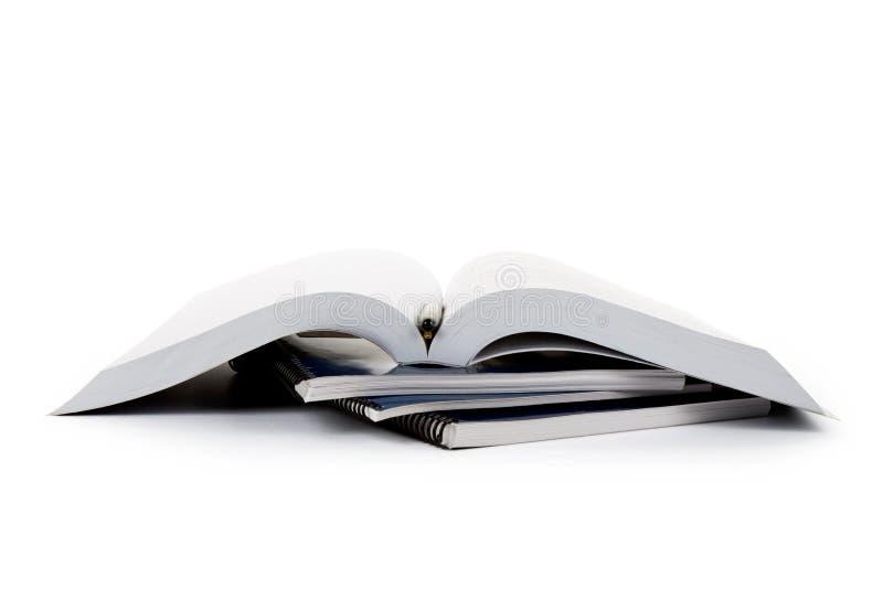 Libro de textos de la escuela imágenes de archivo libres de regalías