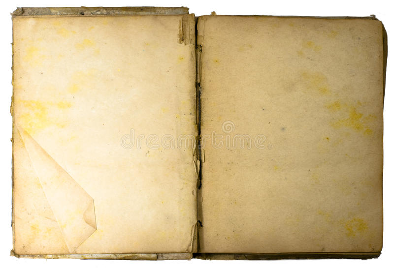 Libro del Antiquarian fotografia stock libera da diritti