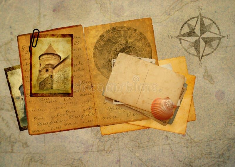 Libro dell'annata fotografia stock libera da diritti