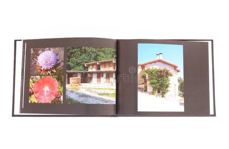 Libro della foto immagini stock