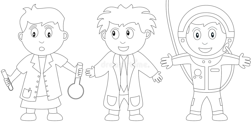 Libro di coloritura per i bambini [11] illustrazione vettoriale
