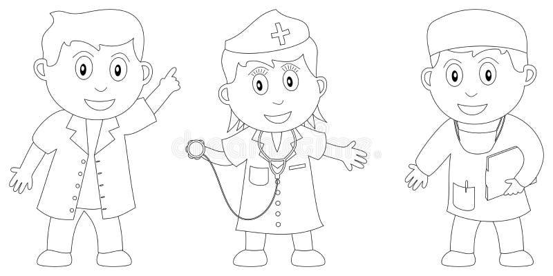 Libro di coloritura per i bambini [6] royalty illustrazione gratis