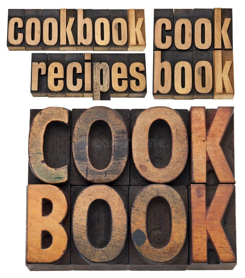 Libro di cucina e ricette fotografia stock libera da diritti