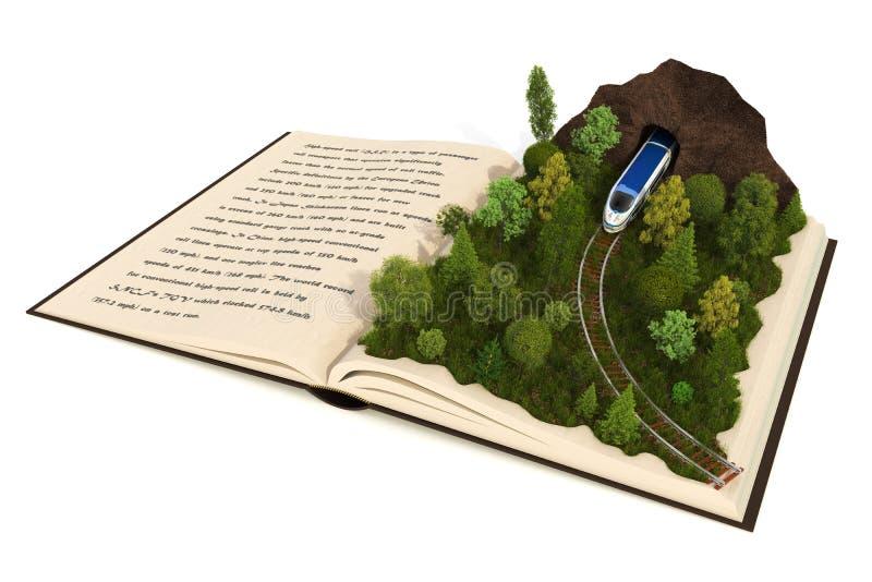 Libro di Fairy-tale illustrazione vettoriale