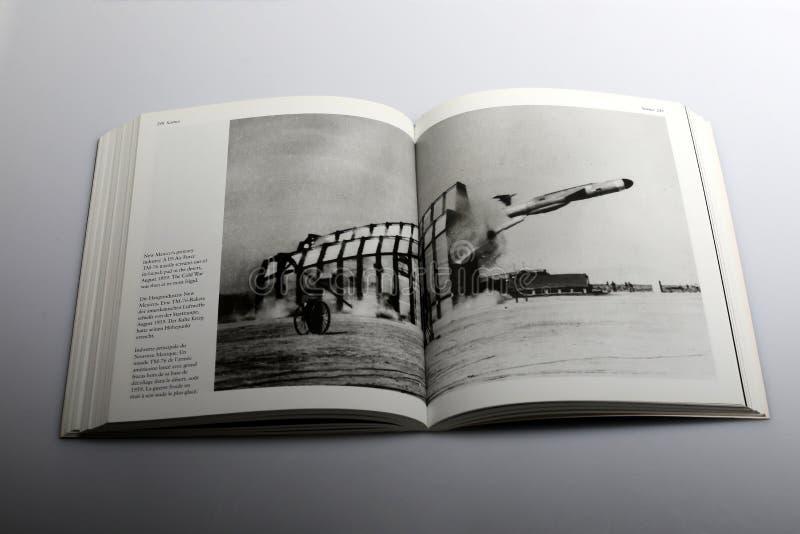 Libro di fotografia di Nick Yapp, aeronautica di Stati Uniti fotografie stock