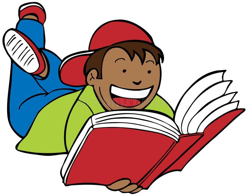 Libro di lettura royalty illustrazione gratis