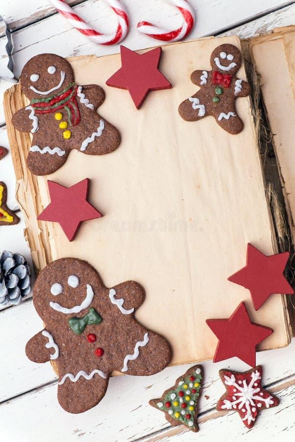 Libro di Natale immagine stock libera da diritti
