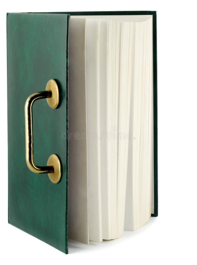 Libro di Openning fotografie stock