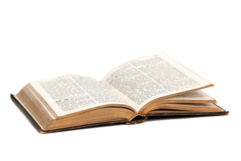 Libro di preghiera fotografie stock libere da diritti