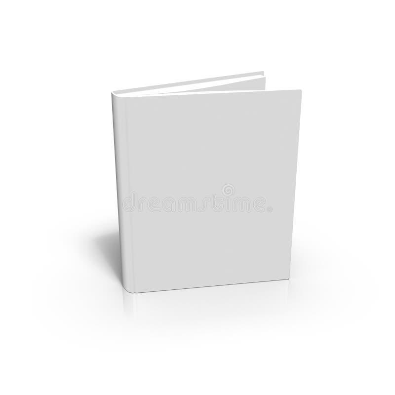 Libro en blanco en el fondo blanco foto de archivo libre de regalías