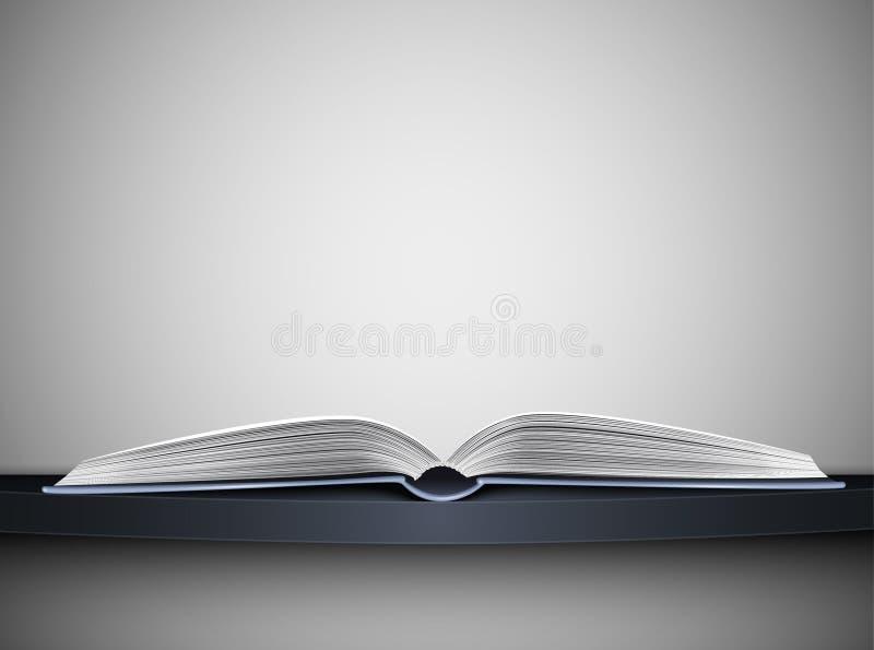 Libro en estante ilustración del vector