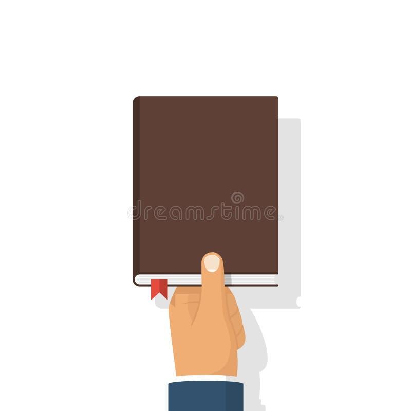 Libro en vector de las manos libre illustration