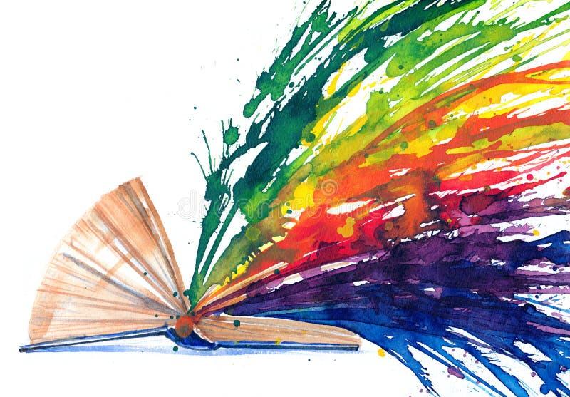 Libro - fonte di conoscenza illustrazione vettoriale
