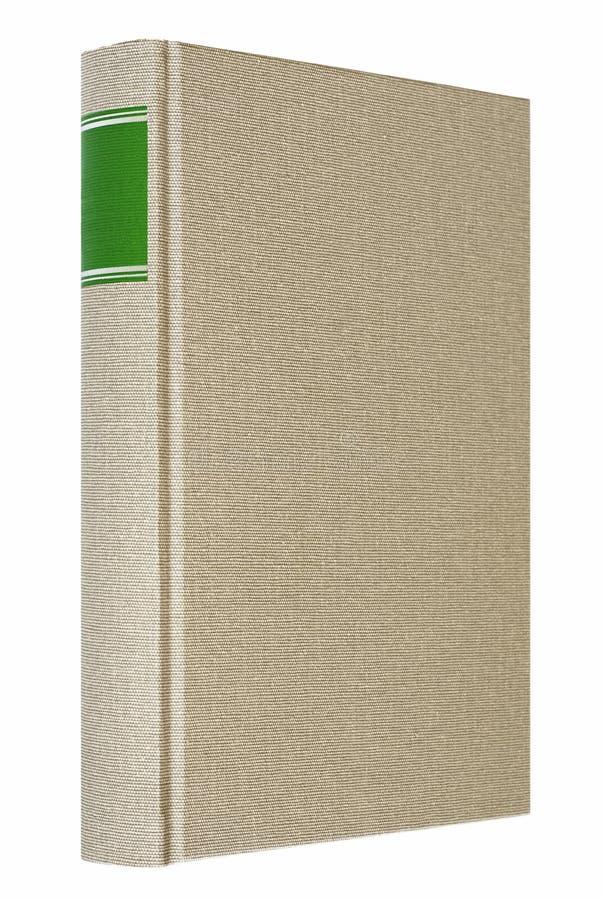 Libro gris aislado en el fondo blanco imagen de archivo