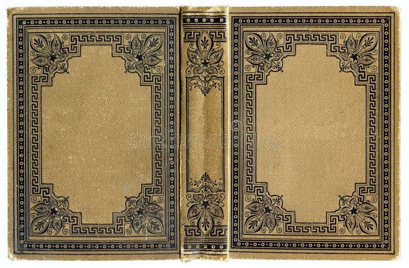 Libro grunged, manchado viejo fotografía de archivo libre de regalías