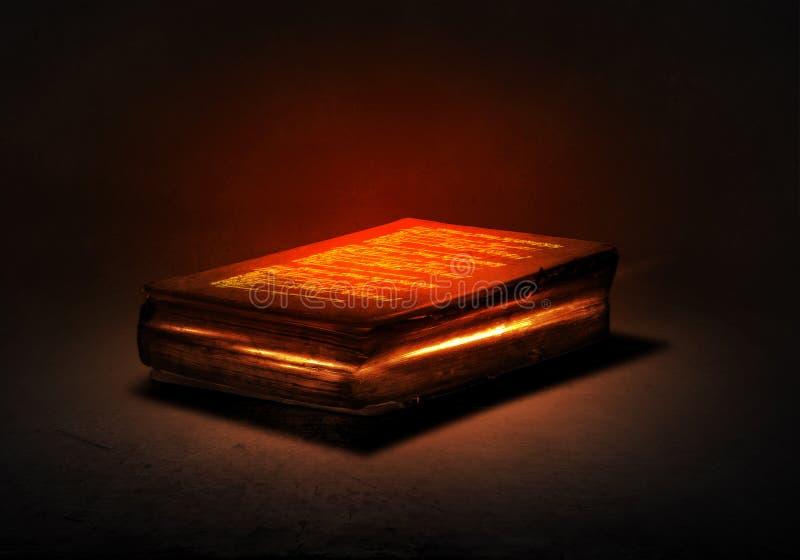 Libro magico fotografie stock