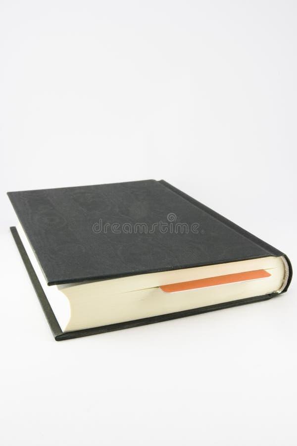 Libro marcado foto de archivo libre de regalías