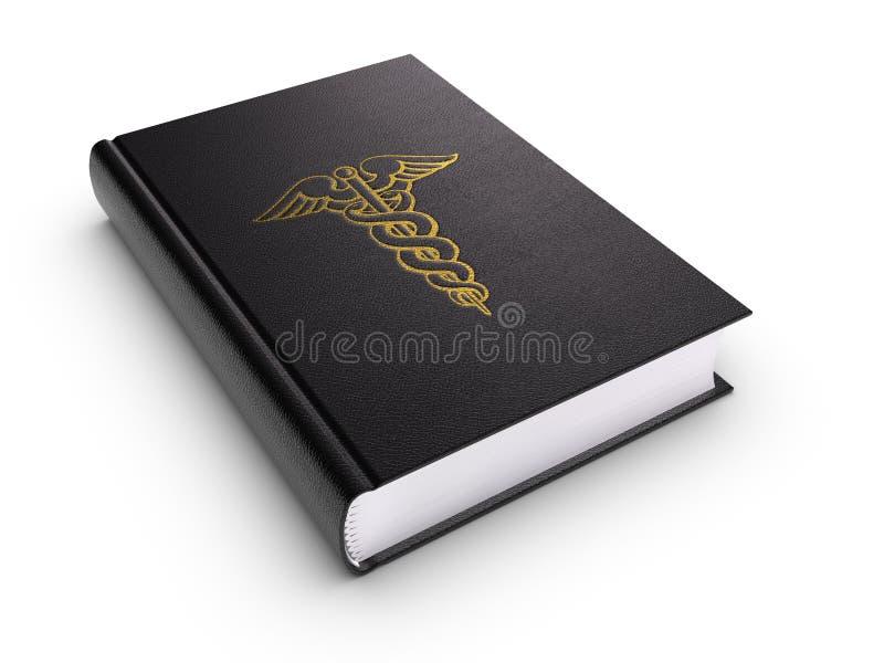 Libro medico illustrazione di stock