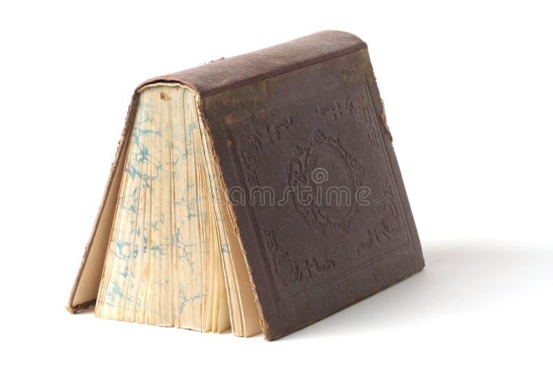 Libro muy viejo imagen de archivo libre de regalías
