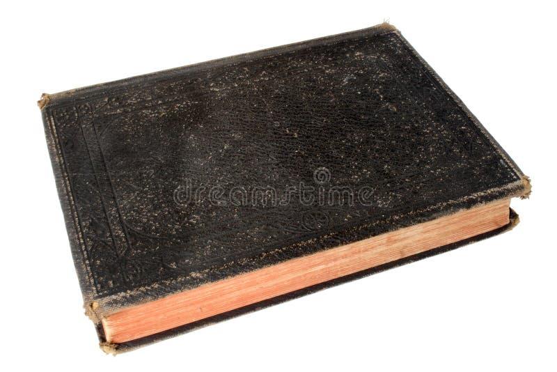 Libro negro viejo. foto de archivo libre de regalías