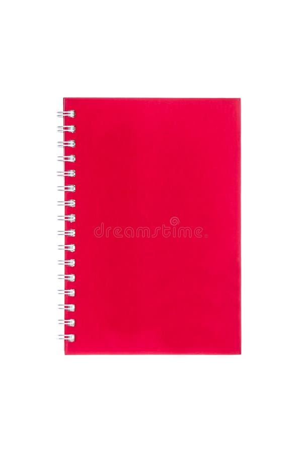 Libro rosso del diario fotografia stock libera da diritti