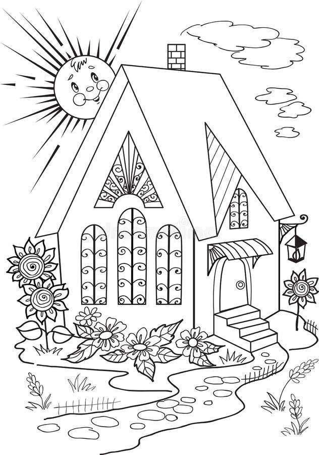 Libro Sun del color libre illustration