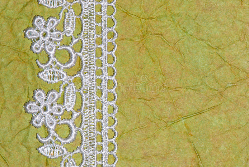 Libro Verde y cordón imagenes de archivo