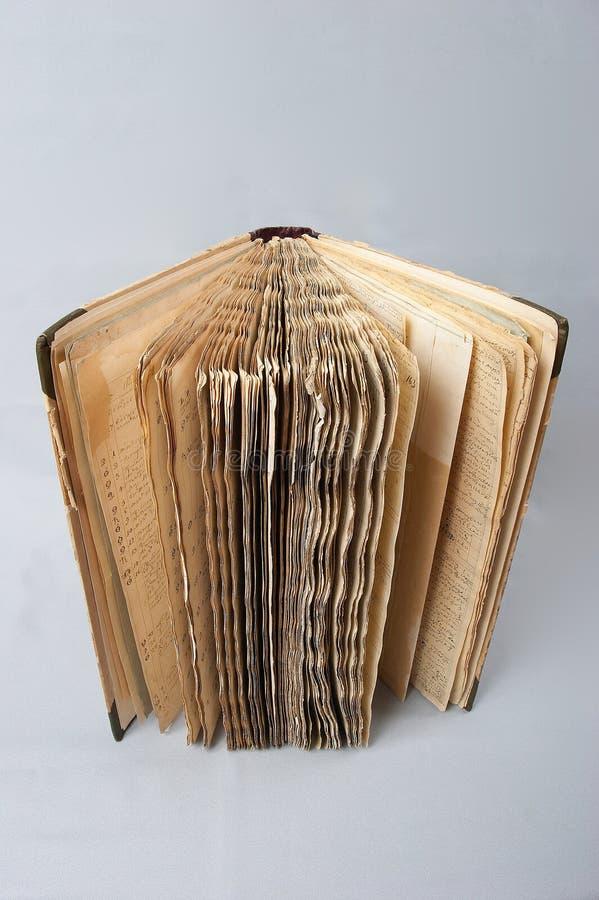 Libro viejo #4 fotos de archivo libres de regalías