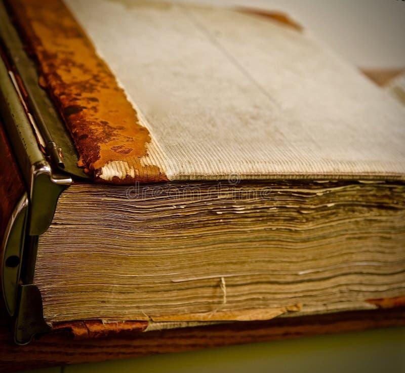 Libro viejo de la foto fotografía de archivo libre de regalías
