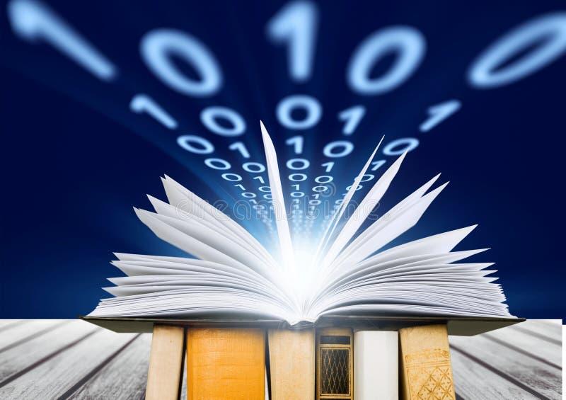 Libro y gráfico imagen de archivo