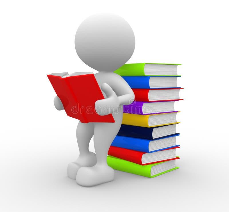 Libros stock de ilustración