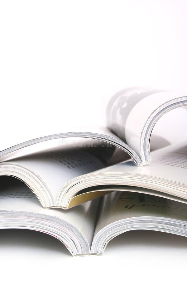 Libros abiertos imagen de archivo