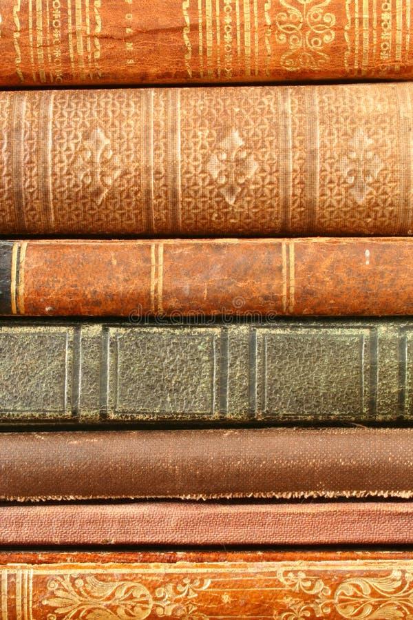 Libros antiguos foto de archivo libre de regalías