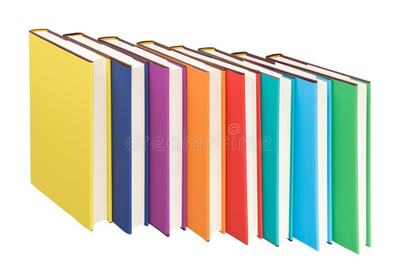 Libros coloridos imagen de archivo libre de regalías