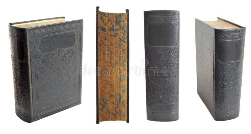 Libros de Hardcover antiguos imagenes de archivo
