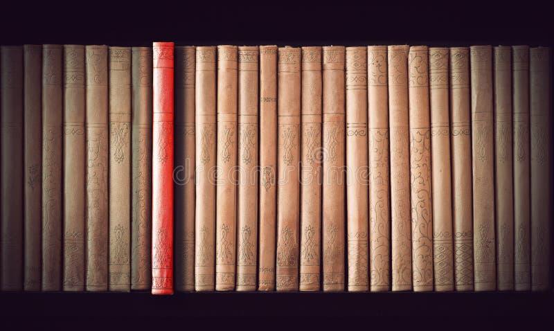 Libros de la vendimia fotografía de archivo