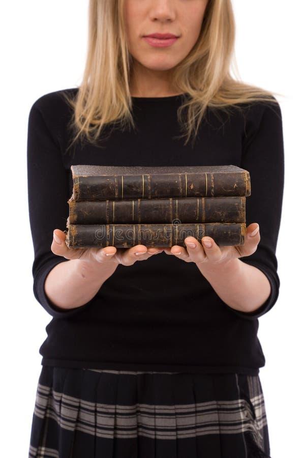 Libros de ley fotos de archivo
