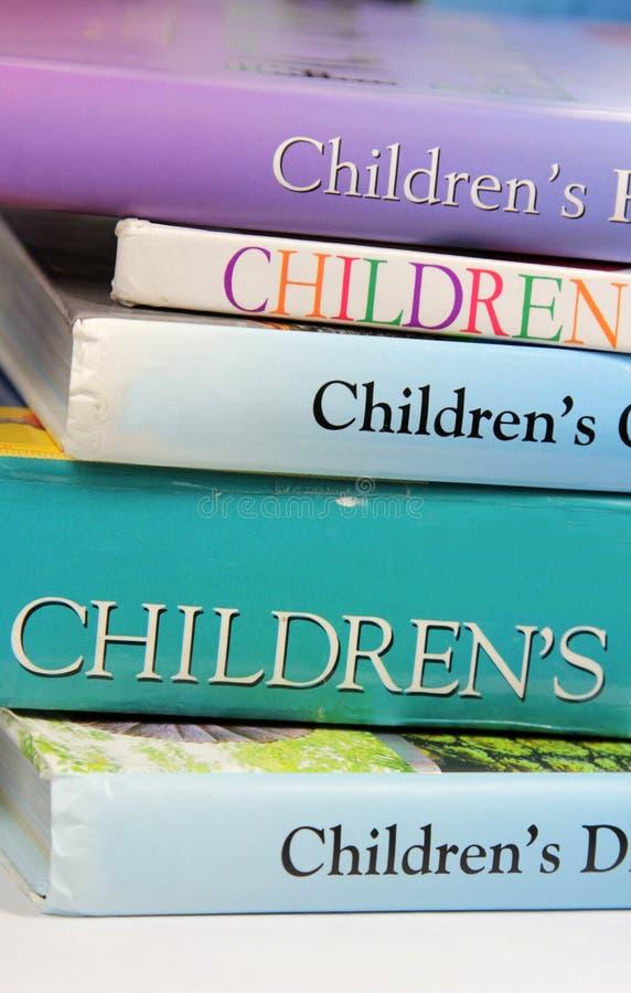 Libros de niños imagen de archivo libre de regalías