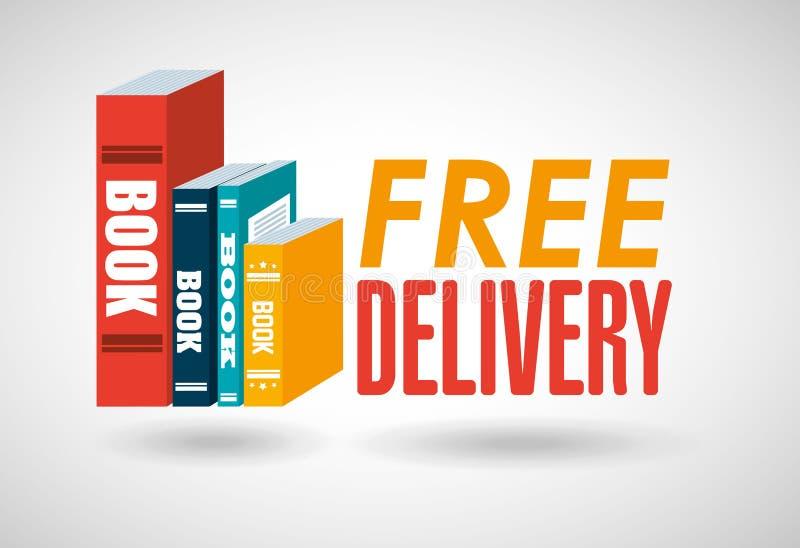 Libros de servicio de entrega libre illustration