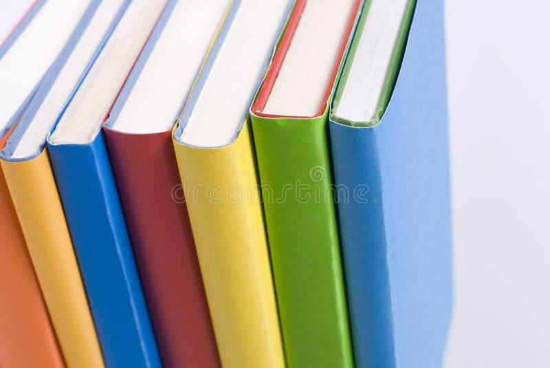 Libros del color fotografía de archivo