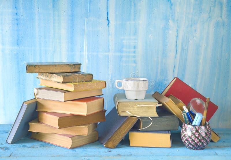 Libros del vintage, imagenes de archivo