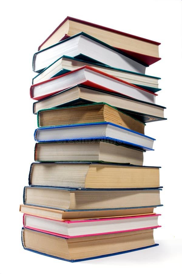 Libros en blanco foto de archivo
