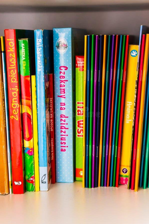 Libros infantiles imagen de archivo libre de regalías