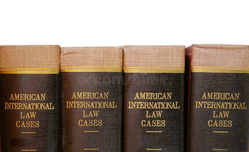 Libros legales imagen de archivo
