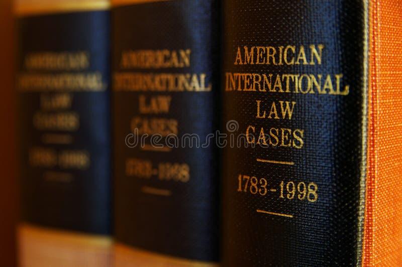 Libros legales foto de archivo libre de regalías