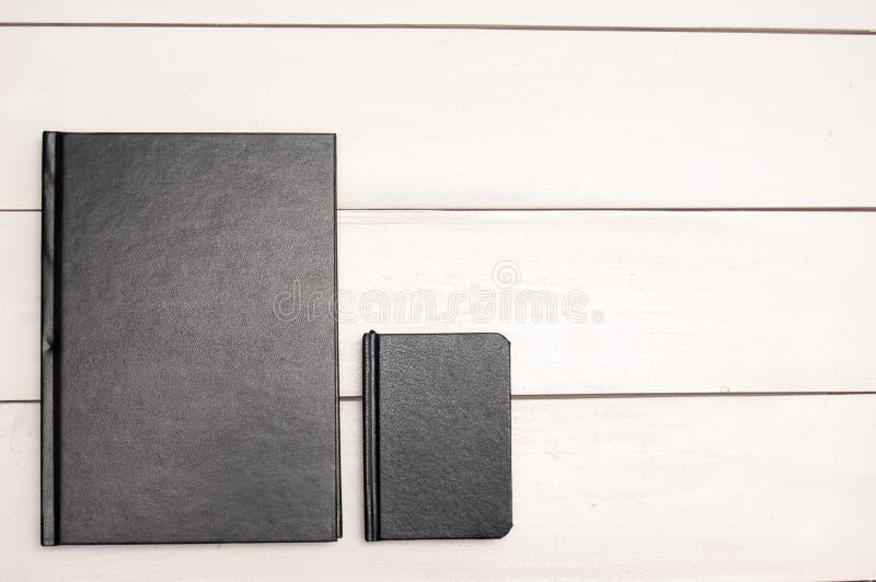 Libros negros fotos de archivo libres de regalías