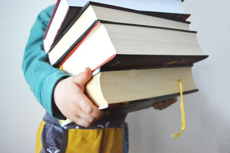 Libros pesados fotografía de archivo