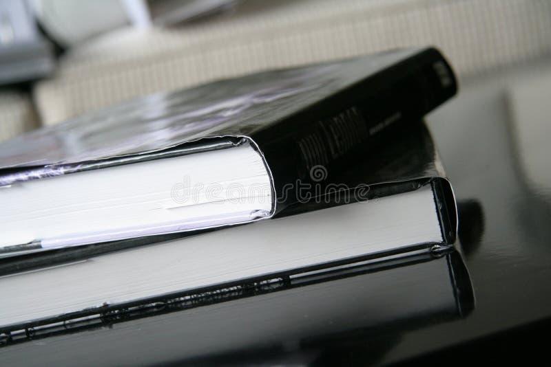 Libros puestos en el vector fotos de archivo libres de regalías