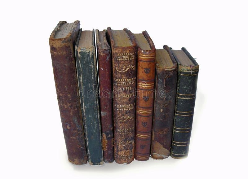 Libros viejos imágenes de archivo libres de regalías